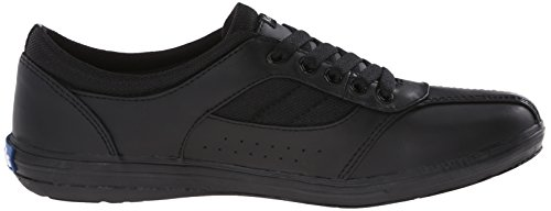 Keds Women's Prestige Fashion Sneaker Black Leather 5Ql00T