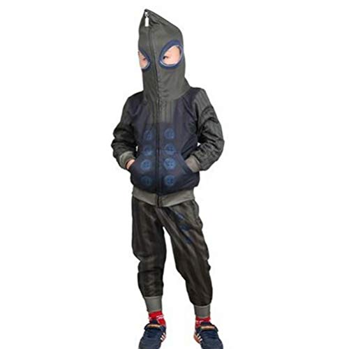 Toddler Kids Full-Zip Up Hoodies Pants Set Spider