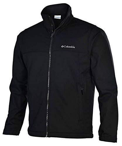 Columbia Mens Mt. Village Softshell Jacket-Black-XL