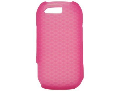 Soft Silicone Skin Cover Case Hot Pink for Motorola ()