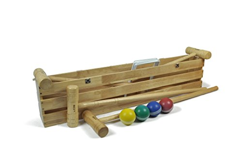 Bex Pro Croquet Set in Wooden Box (4 player) by BEX
