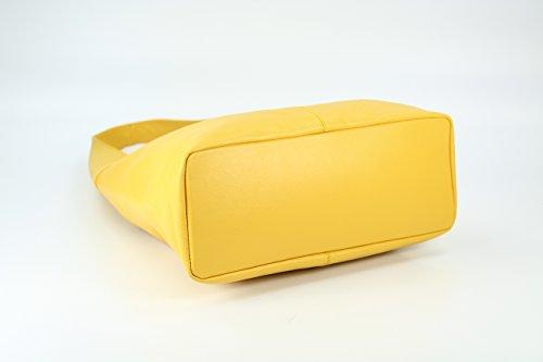 Belli, Borsa a spalla donna Giallo giallo