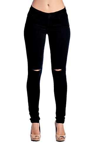 Juniors Black Jeans - 7