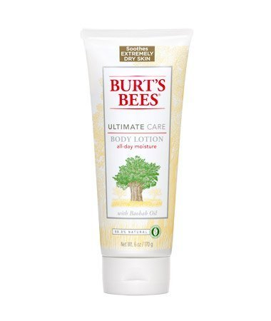 Burt's Bees Body Lotion Ultimate Care 6oz,Pack of 2