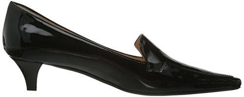 mujer de geschlossen cuero Evita Zapatos vestir Pumps negro Shoes de para negro 4YWqqH1z0