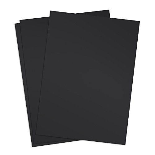TruBind 8-1/2 x 11 Inches 12 Mil Sand Texture Polycovers - Pack of 100, Black (CSD12-ASBK) - Poly Binding Covers