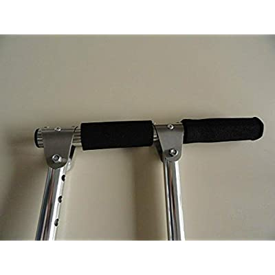Portable Hand Controls for Automatic Car. Disability Driving Aids Handicap - Car Hand controls - SCI (Black HANDLE WITH BLACK STRAP): Home Improvement