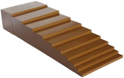 Montessori Brown Stair by D & D Distributor: Amazon.es: Juguetes y juegos