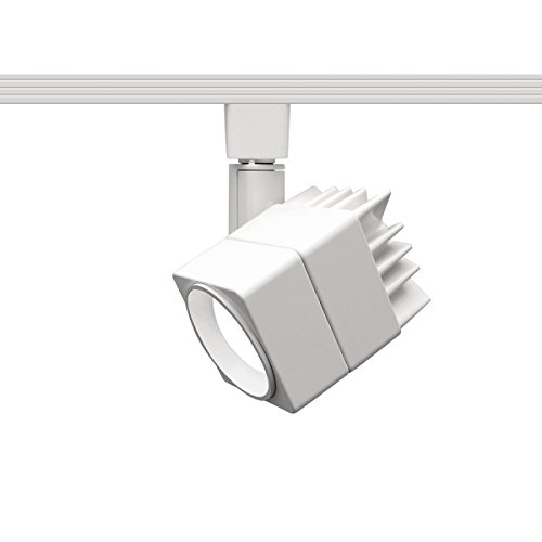 WAC Lighting L-LED207-30-WT Contemporary Summit ACLED 15W Beamshift Line Voltage Cube L-Track Head