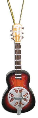 Miniature Brown Burst Dobro Resonator Guitar Christmas Or...