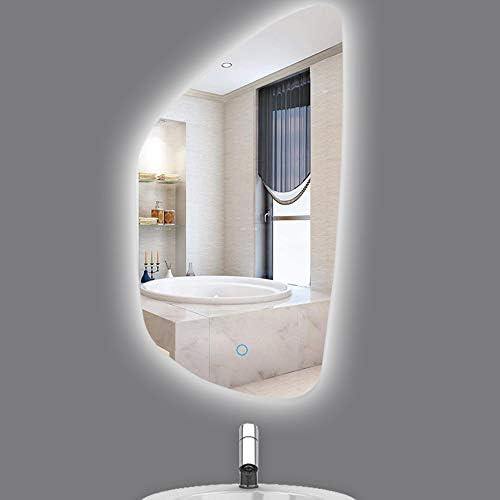 バスルームの鏡、壁掛け鏡、LED鏡、防曇鏡、化粧鏡、トイレ鏡
