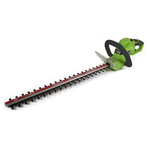 Greenworks 22-Inch 4 AMP Corded Hedge Trimmer HT04B00 (Renewed)