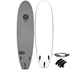 This classic funboard outline has enough rocker and volume to catch as many waves as you can handle. The Malibu is extra durable, built with extra stringers for stability and added layers of EPO and XPE to make it sturdy. The IXPE Deck...