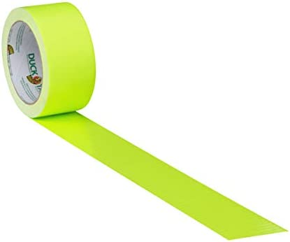 Fluorescent Citrus Duck Brand Duct Tape 4.8cm x 15 yds