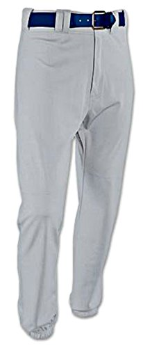 RHMK Rod-Knit Adult Baseball Pants - Blue/Gray (Medium) (Gray Mens Baseball)
