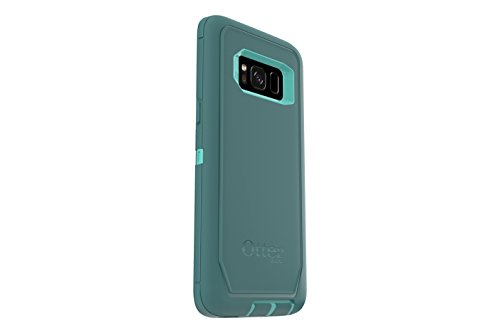 OtterBox 77-54519  DEFENDER SERIES for Samsung Galaxy S8 ONLY (SCREEN PROTECTOR NOT INCLUDED)  - AQUA MINT WAY (AQUA MINT/MOUNTAIN RANGE GREEN)