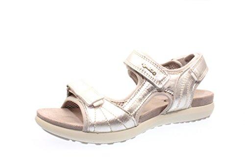 Woman Sandals argento silver, (argento) 5863