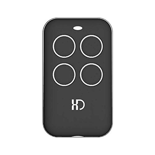 XINDA Universal Garage Door Opener Remote with Intellicode Security Technology,Control Up to 4 Gate and Garage Door Remote-Compatible with Genie Garage Door Openers ()