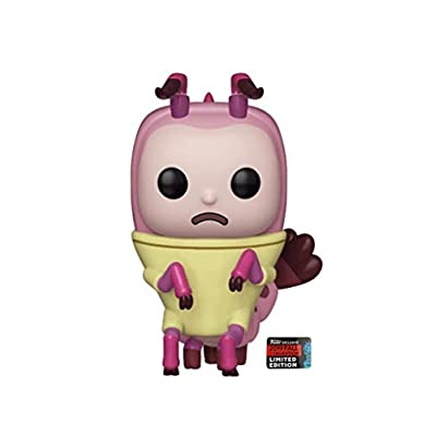 Funko Pop! Rick and Morty Shrimp Morty 645 NYCC Shared Sticker Exclusive: Toys & Games