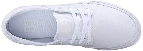 great deals sale online DC Men's Trase TX Unisex Skate Shoe White Textile 2014 newest sale online pesiKE