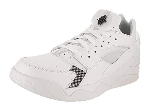 White Schuh Huarache Flight Black Air Basketball Low WnHa6T
