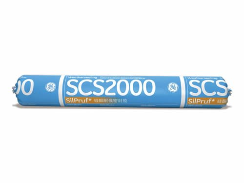 GE SCS2000 Bronze Silpruf Silicone Sealant - 12 Sausages by GE SCS2000 Silpruf sealant