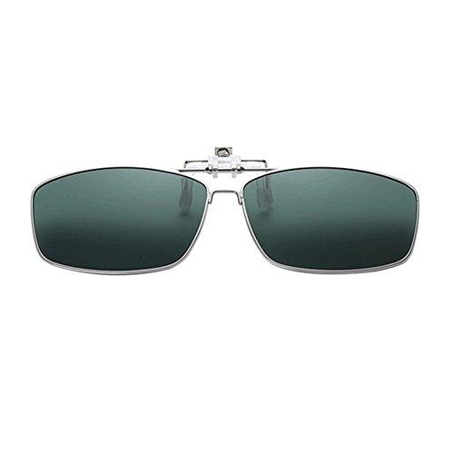 Rectangular Metálico Sunglasses Xinvision Conducir Mujer Vintage Polarizadas Reflejante Metal UV400 Anti Sol Verde de Portección Eyewear Oscuro para Hombre Gafas qaSYfxa8