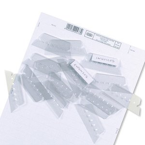 Elba Verticflex Plastic Tabs for Suspension Files Ref L140030 [Pack of - Tab Suspension