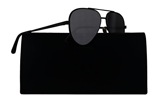 Saint Laurent Sunglasses Classic 11 Zero Black w/Grey Lens 60mm 003 Classic11 - Classic Saint 11 Aviator Sunglasses Laurent