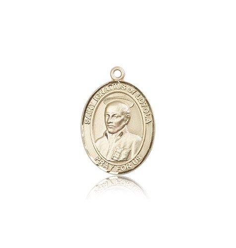 14 ktゴールドSt Ignatius of Loyola medal B008JL3EI2