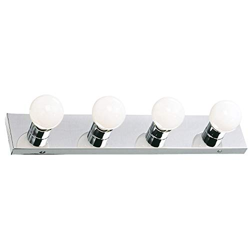 Design House 500892 4 Light Vanity Light, Polished -