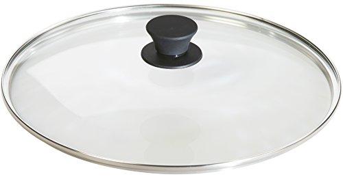 Lodge sazonado de hierro fundido sartén con tapa de cristal templado: Amazon.es: Hogar