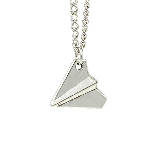 Lychee Design 1D Generic Airplane Directioner Paper Plane Pendant Necklace