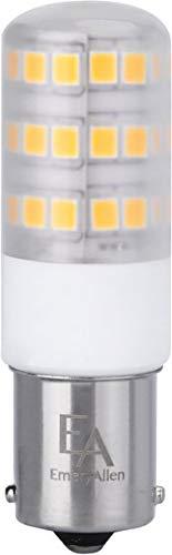 (Emery Allen EA-BA15s-4.0W-001-279F Dimmable Bayonet Base LED Light Bulb, 12V-4Watt (35W Equivalent) 400 Lumens, 2700K, 1 Pcs)