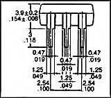 Panasonic Electric Works AQV102 Ssr, Photo Mosfet, 60V, 600mA