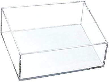 アクリサンデー アクリBOX ボックス 100mm×200mm×高さ50mm 板厚 3mm 透明 AB-5