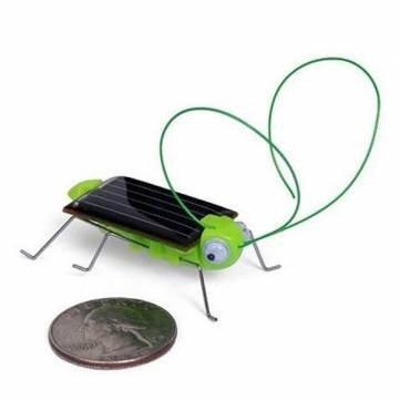 Educational Solar powered Grasshopper Toy Gadget