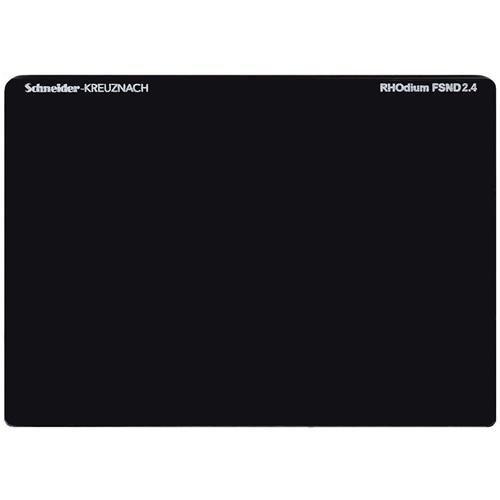 Schneider 4 x 5.65インチロジウムフルスペクトラムニュートラル密度FSND 2.4フィルタ、8停止   B0711C551Y