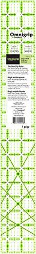 Omnigrip RN2518 Non-Slip Quilter's Ruler, 2-1/2 x 18-Inch