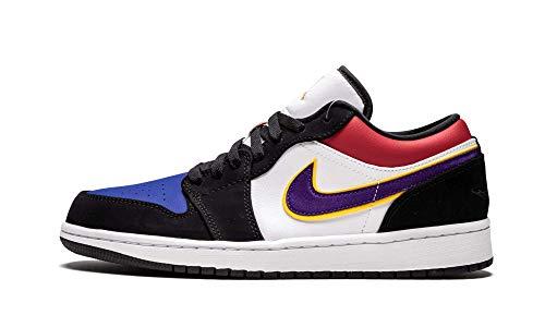 Jordan Air 1 Low (Black/Field Purple-White 9.5)]()