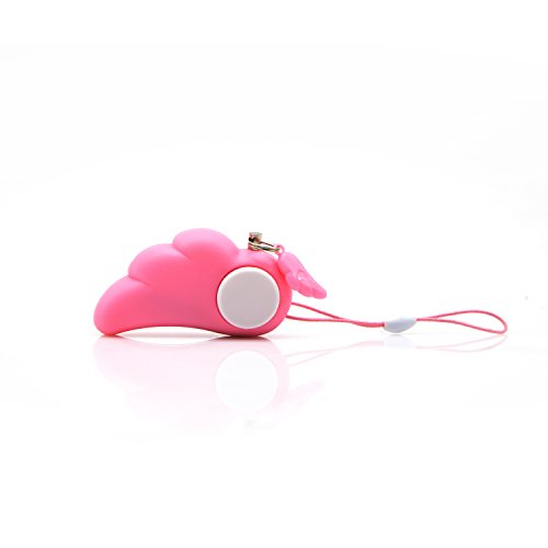 Pretty Handy Angel 90dB Personal Alarm with Key Ring Electronic Protection Alarm Whistle for Women Kids Old People Personal Belongings (Pink(2PCS)) (Self Protection Alarm compare prices)