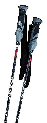 Winget Carbon Fiber Mountain Alpine Ski Poles XA 80