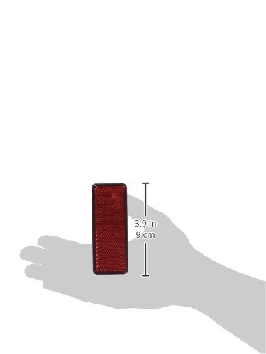 homologu/és rouges R/éf/20540 Lot de 2 Lampa Paire de r/éfl/échissants rectangulaires