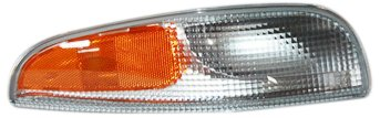 (TYC 18-5967-01 Chevrolet Corvette Front Passenger Side Replacement Parking/Signal Lamp Assembly )