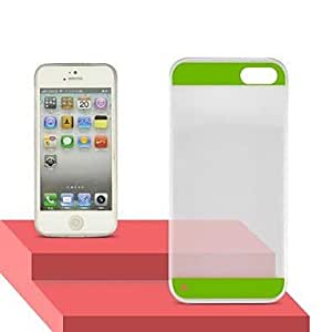 Angibabe High Transparent 0.3mm Ultra Slim Dual Candy Soft TPU Gel Jelly Back cover for iphone 6 plus (green)