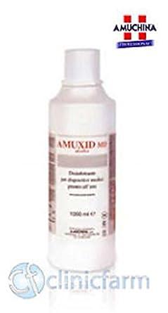 Amuchina Amuxid MD, desinfectante alcohólico, limpiador para ...