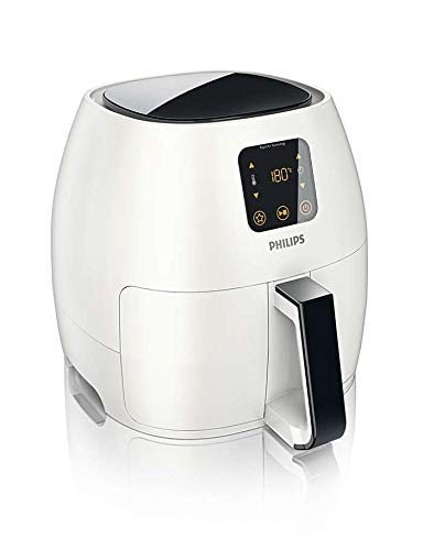 Philips Starfish Technology XL Airfryer, Digital Interface, White –  2.65lb/3.5qt-  HD9240/34