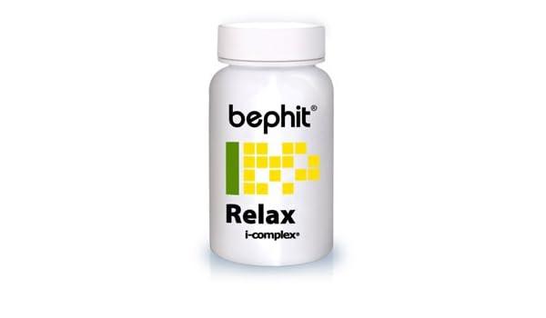 RELAX (Tila + Azahar + Melisa) BEPHIT - 60 cápsulas 640 mg: Amazon.es: Salud y cuidado personal