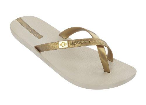 Ipanema mix brasil beige/gold 20352, sandales femme