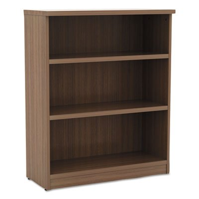 Alera VA634432WA Valencia Series Bookcase, Three-Shelf, 31 3/4